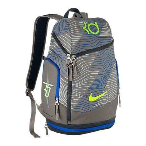 Nike KD Max Air Backpack (Metallic Pewter Volt)  630d515bed356