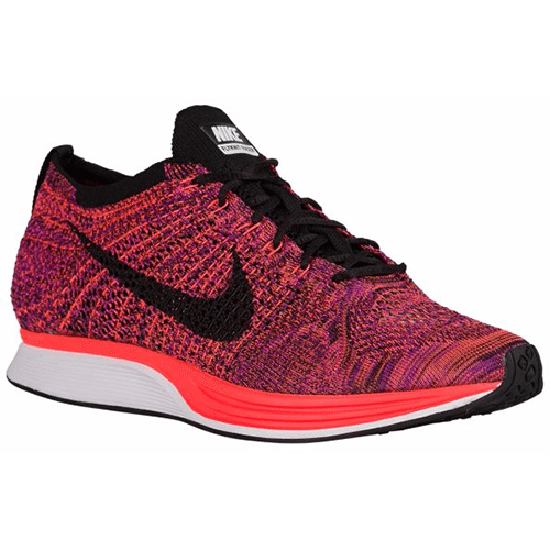 3cca5b240b2b Nike Flyknit Racer - Men s (Black Hyper Orange Vivid Purple ...