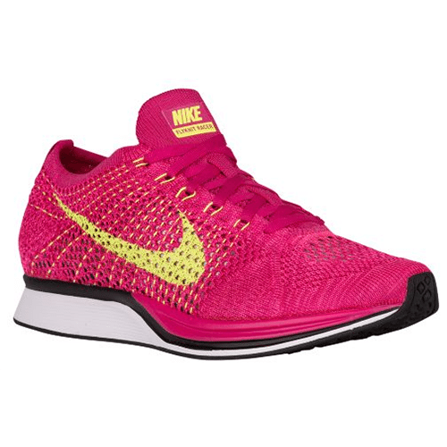 3d2c13f45f5c Nike Flyknit Racer - Men s (Fireberry Volt Pink Flash) REPLACEMENT ...