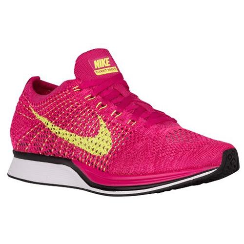 best website 6749a 487c4 Nike Flyknit Racer – Men s (Fireberry Volt Pink Flash) REPLACEMENT BOX
