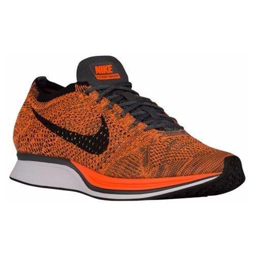 best sneakers 3c65f c514a Nike Flyknit Racer – Men s (Total Orange White Dark Grey)