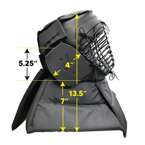Protective Head Gear Side Dimension