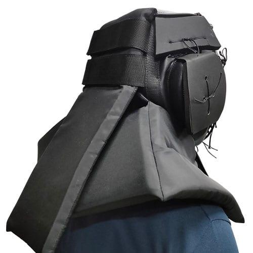 Protective Head Gear Back Worn